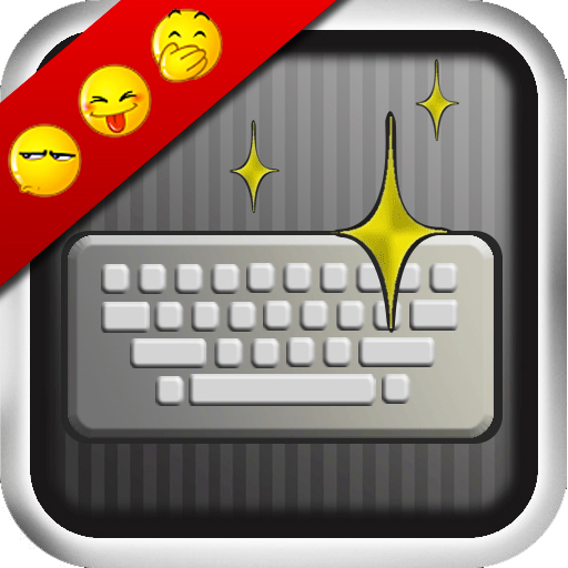 Typing Genius - installs 450 Emoticon(Emoji)! app icon